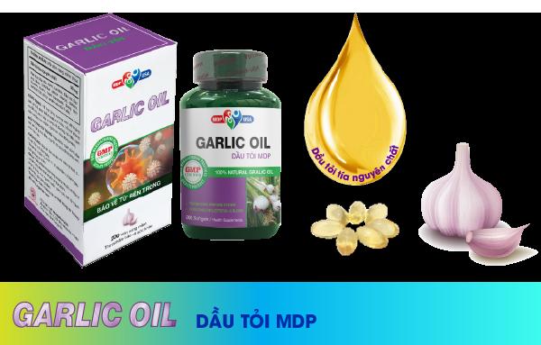 Thành phần Dầu tỏi Garlic Oil