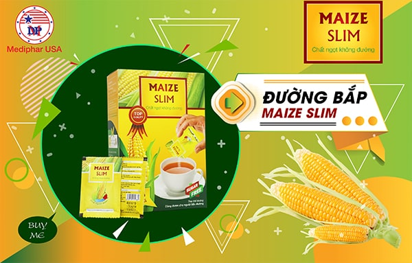 Đường bắp ăn kiêng Maize Slim là giải pháp tối ưu cho người cao tuổi, người bệnh tiểu đường và thừa cân