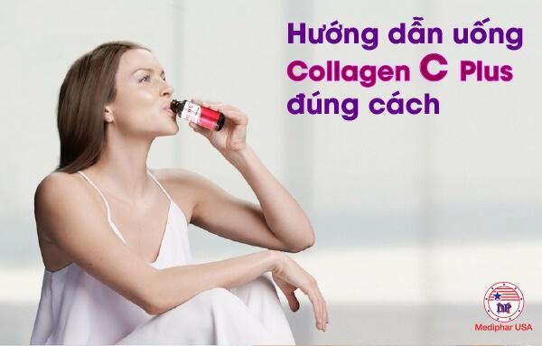 cách uống collagen c