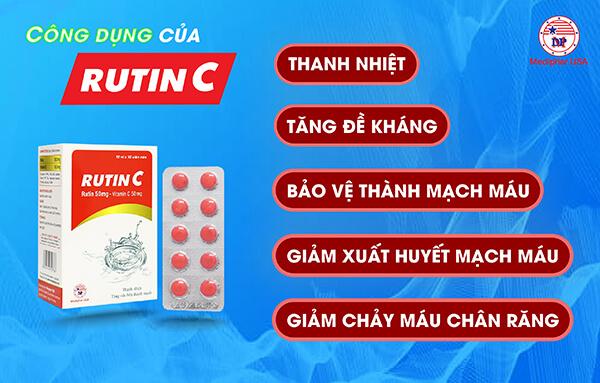 Công dụng Rutin C