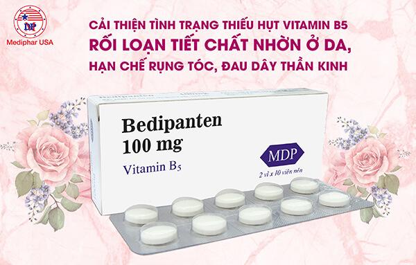 Cách dùng Vitamin B5