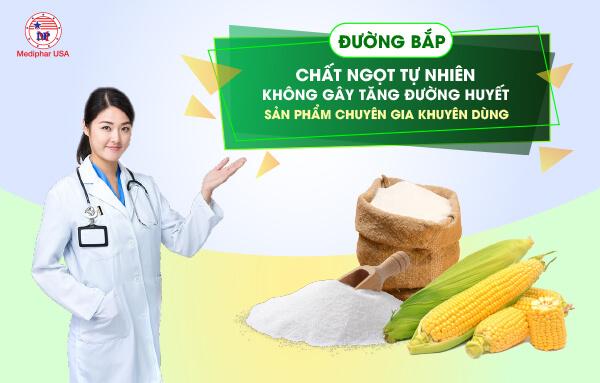 Chất ngọt tự nhiên không gây tăng đường huyết là sản phẩm được các chuyên gia khuyên dùng