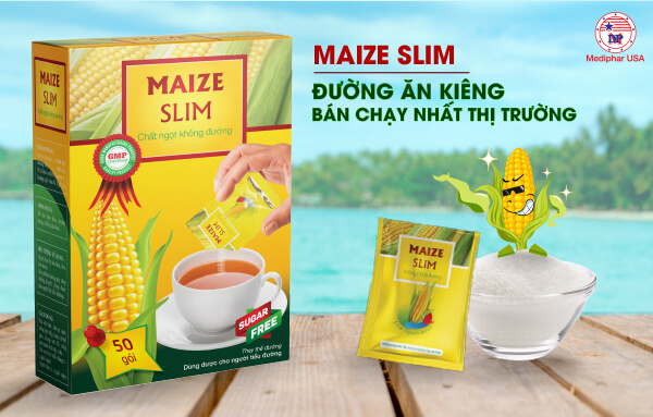 Đường bắp Maize Slim - Đường ăn kiêng bán chạy nhất thị trường