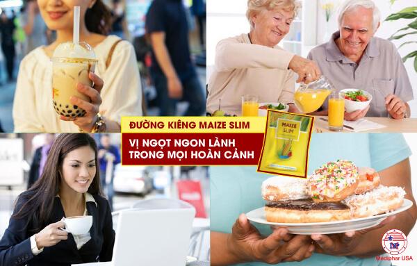 Đường bắp Maize Slim - Sản phẩm tin dùng của tín đồ hảo ngọt
