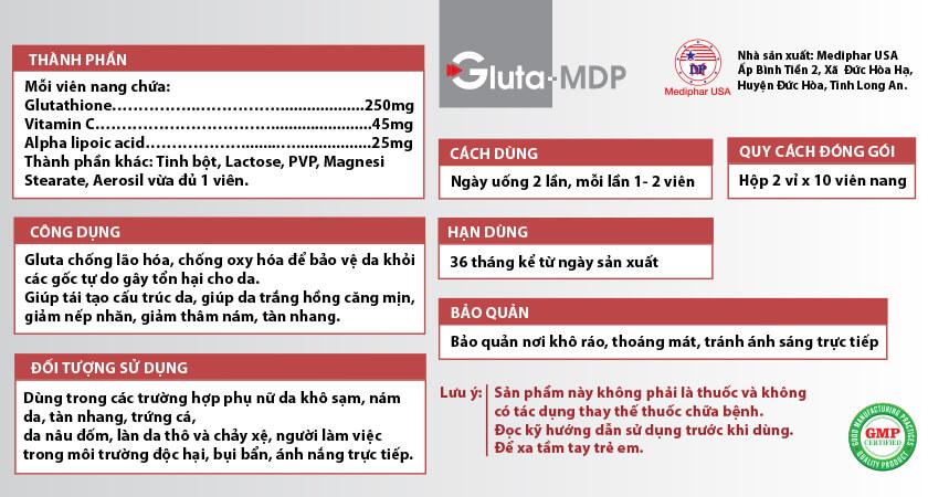 Gluta MDP