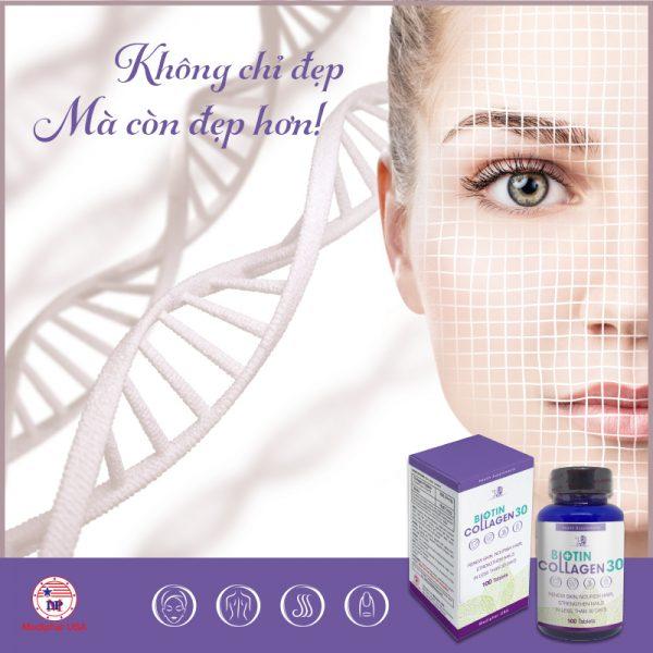 Viên uống Biotin Collagen