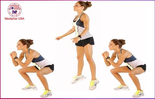 Nhảy tại chỗ giúp tăng chiều cao