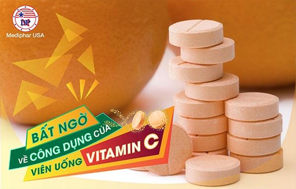 Công dụng của viên uống Vitamin C