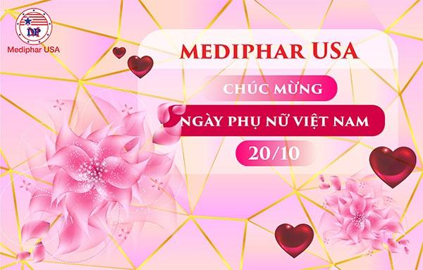 Mediphar USA chúc mừng ngày Phụ nữ Việt Nam 20/10