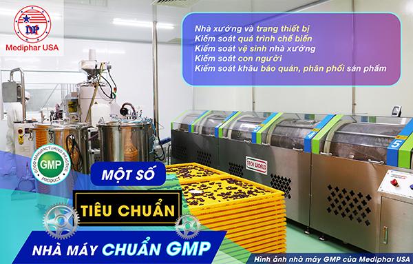 Điểm qua một số tiêu chuẩn nhà máy chuẩn GMP