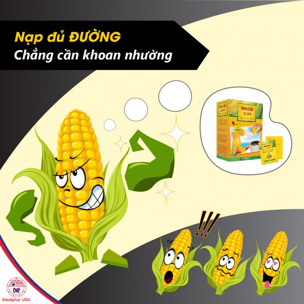 Đường bắp ăn kiêng Maize Slim