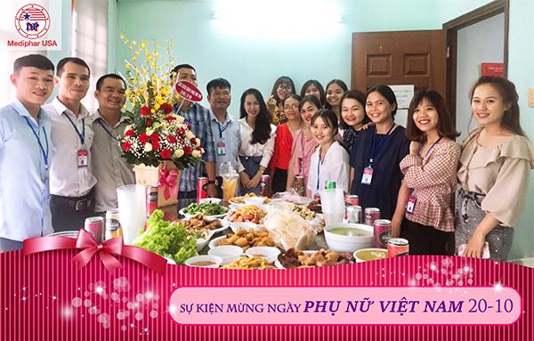 Mediphar USA mừng Ngày Phụ nữ Việt Nam 20/10