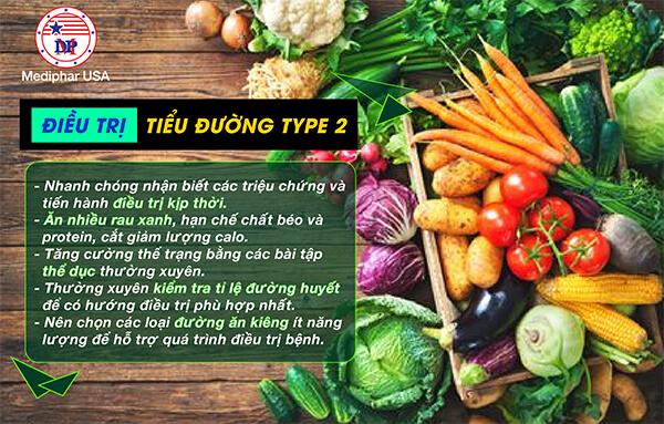 Điều trị tiểu đường type 2