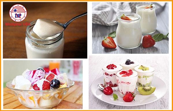 Sữa chua có chứa lợi khuẩn hỗ trợ giảm táo bón hiệu quả