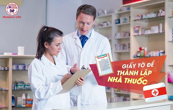 Giấy tờ để thành lập nhà thuốc cần được chuẩn bị đầy đủ