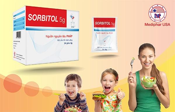 Sorbitol 5G - Cách chữa táo bón hiệu quả nhất
