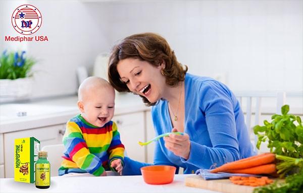 Menpeptine - Cách hỗ trợ điều trị biếng ăn ở trẻ tốt nhất