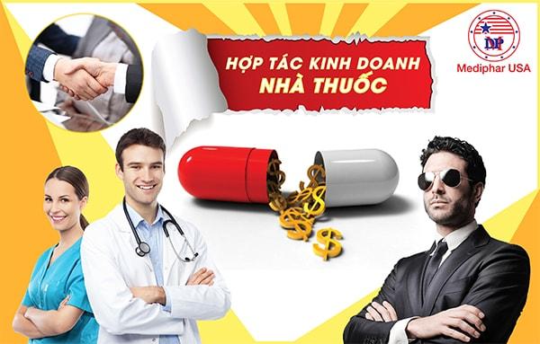Bộ tam hợp tác kinh doanh nhà thuốc cực thịnh