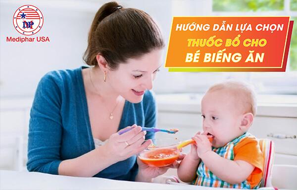 thuốc bổ cho bé biếng ăn