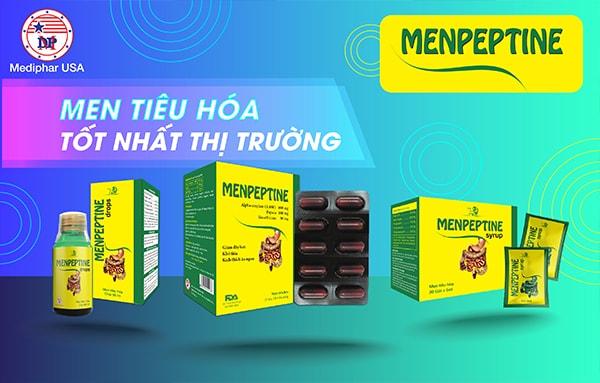 Menpeptine - Men tiêu hóa tốt nhất thị trường