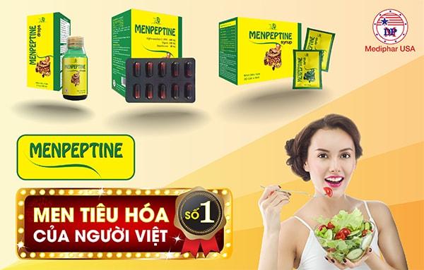 Menpeptine - Men tiêu hóa số 1 của người Việt