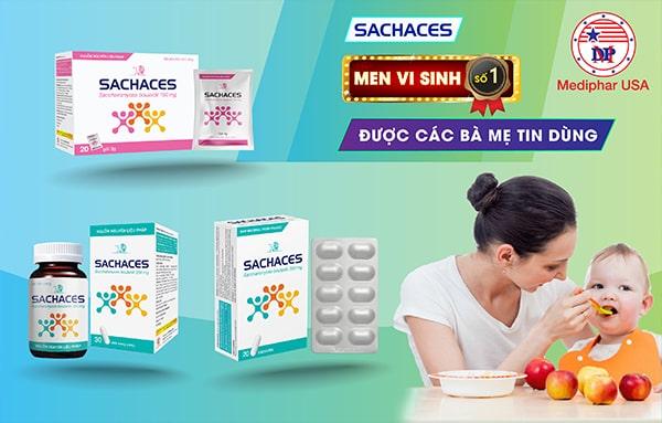 Sachaces - Men vi sinh số 1 được các bà mẹ tin dùng
