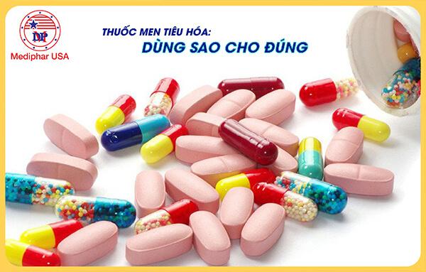 thuốc men tiêu hóa