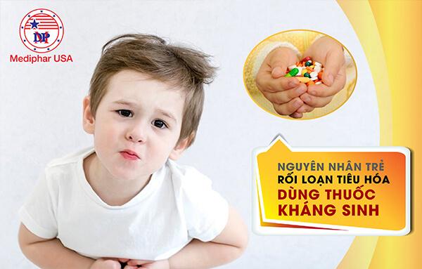 rối loạn tiêu hóa sau khi dùng thuốc kháng sinh