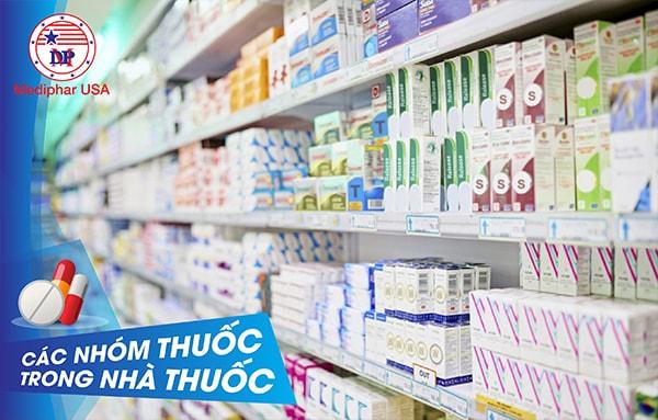 Các nhóm thuốc trong nhà thuốc