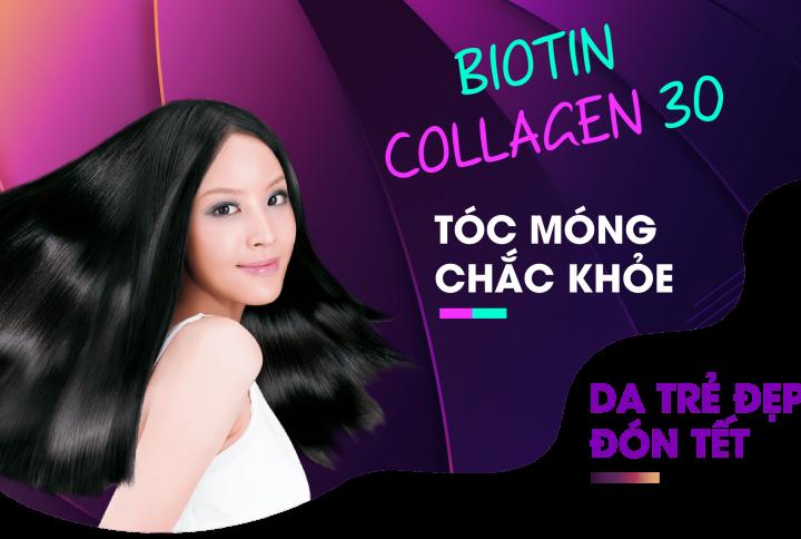 biotin mọc tóc