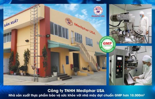 Nhà máy Mediphar USA vinh dự được Bộ y tế cấp chứng nhận GMP