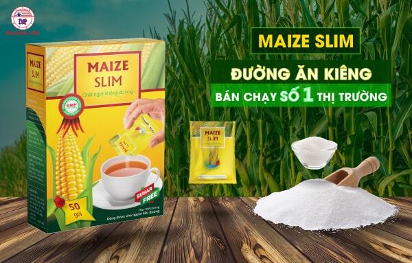 Maize Slim - Đường ăn kiêng bán chạy số 1 thị trường