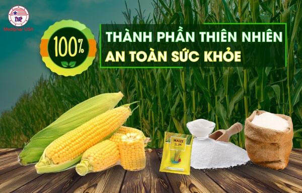 Đường bắp Maize Slim 100% không gây ra bất kỳ tác dụng phụ nào