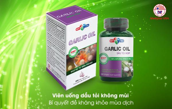 Viên dầu tỏi không mùi Garlic Oil