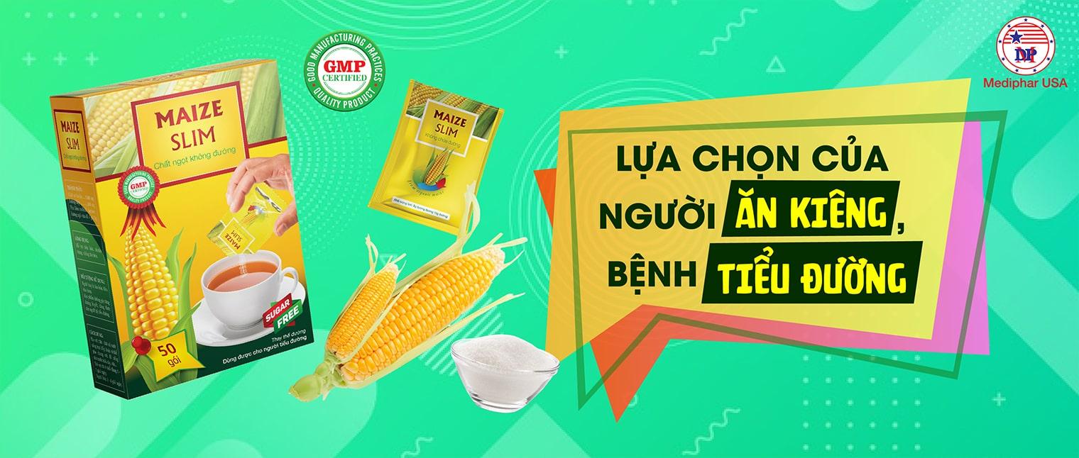 đường bắp maize slim