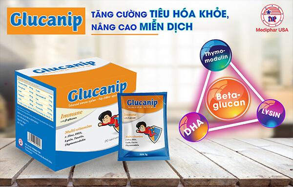GLUCANIP của Mediphar USA