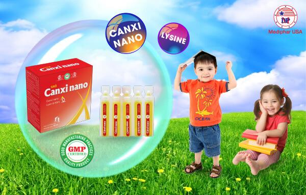 Siro Canxi Nano ống