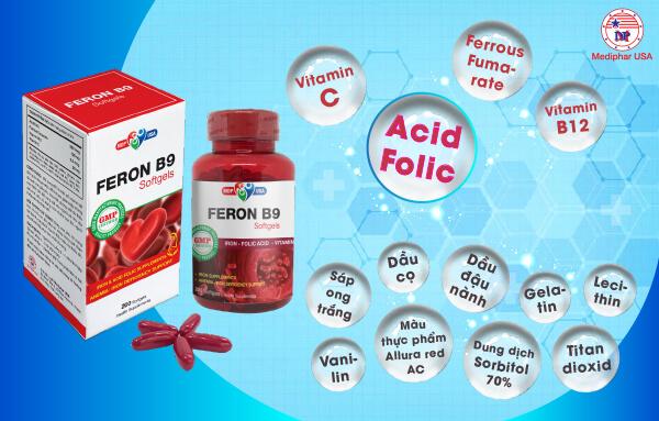 Viên uống Feron B9