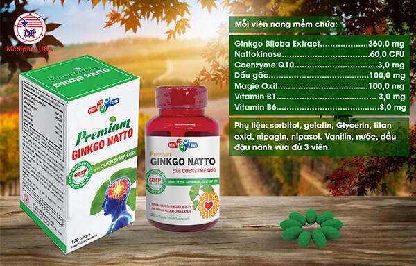 Ginkgo Natto Plus Q10