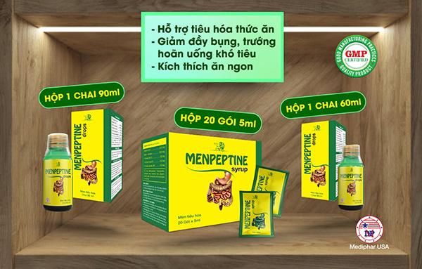 Menpeptine Drop – Giải pháp vàng cho trẻ nên chọn!