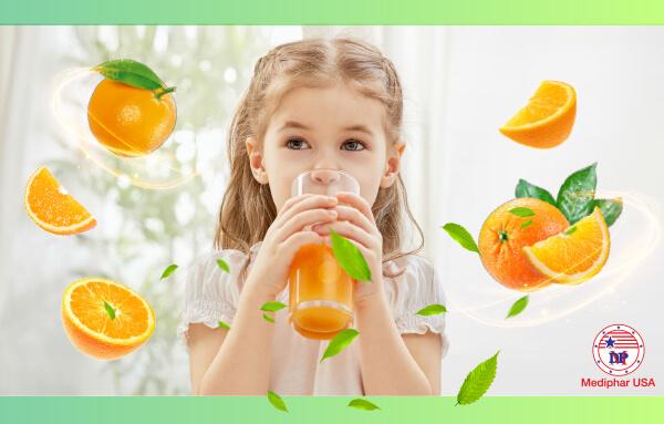Viên C sủi cho trẻ - Bí quyết bù nước và khoáng, vitamin cho trẻ