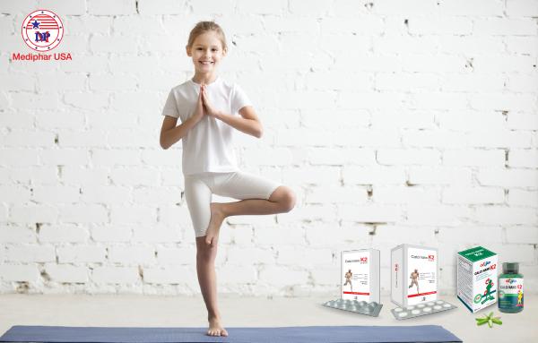 yoga tăng chiều cao cho trẻ