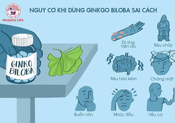 công dụng của ginkgo biloba