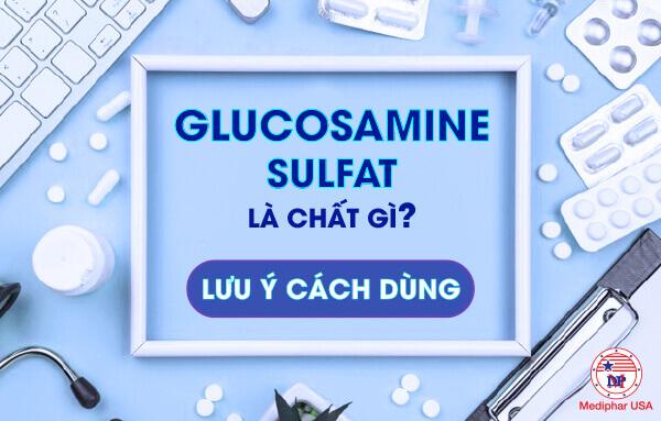 glucosamin sulfate là gì