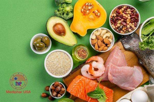 thực phẩm chứa glucosamin