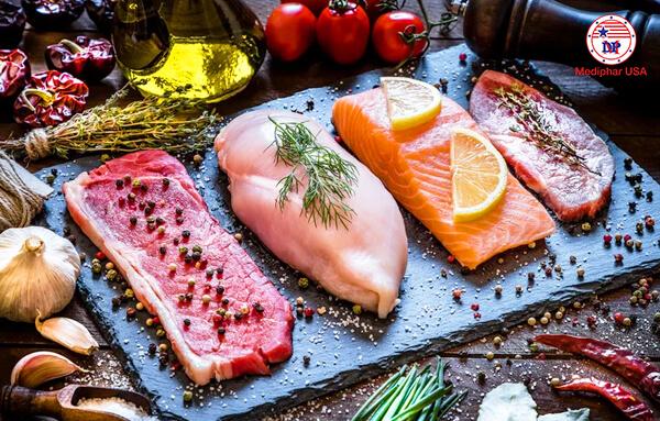 Thực phẩm giàu protein từ động vật giúp cải thiện chiều cao