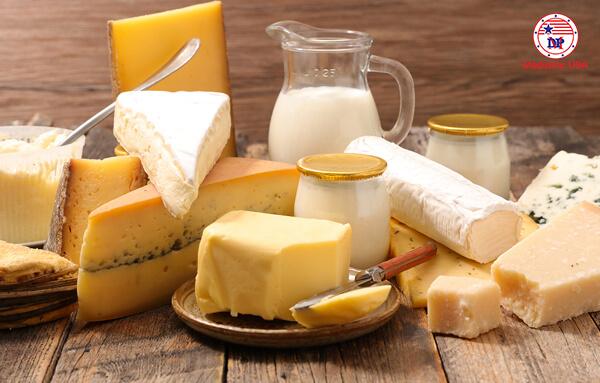 Sữa và các thực phẩm làm từ sữa
