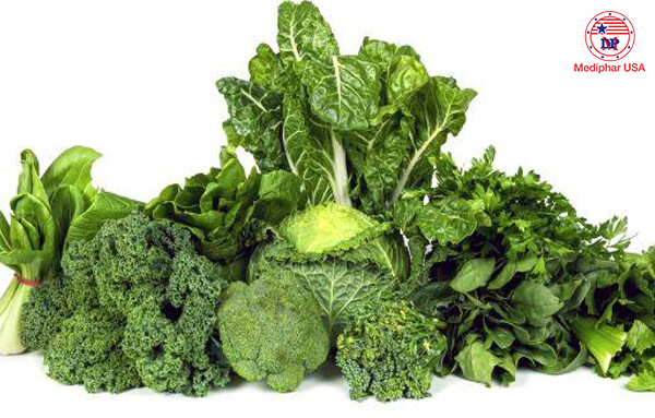 Rau xanh luôn mang đến những lợi ích tích cực cho sức khỏe.