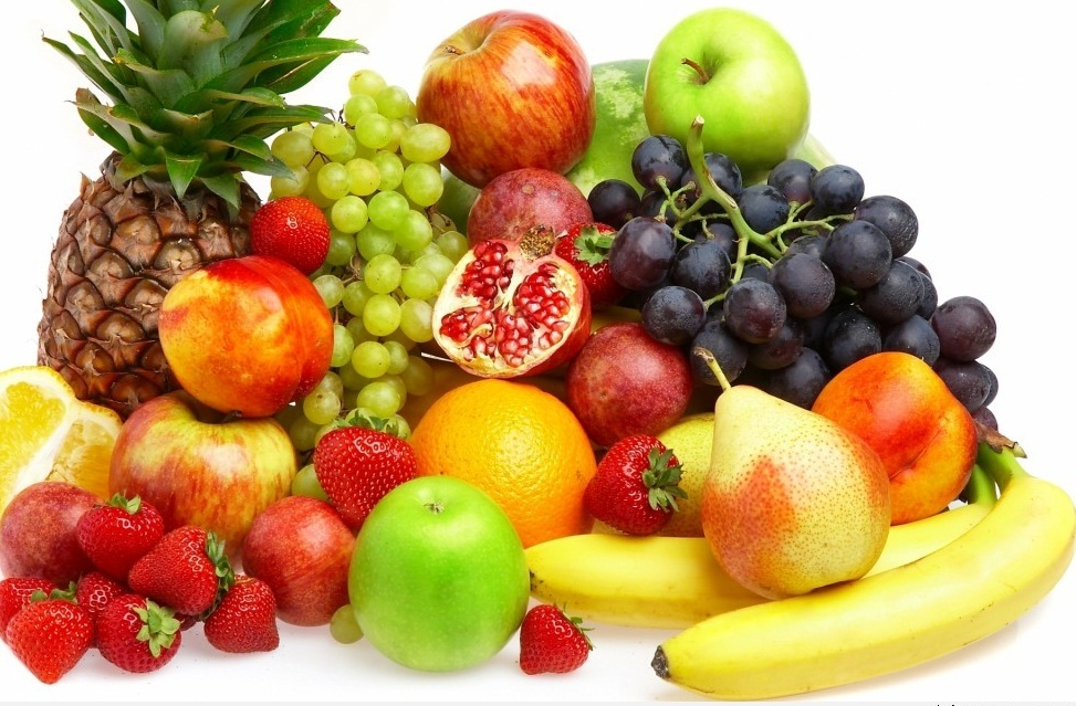 Nguồn vitamin và khoáng từ các loại trái cây rất dồi dào.