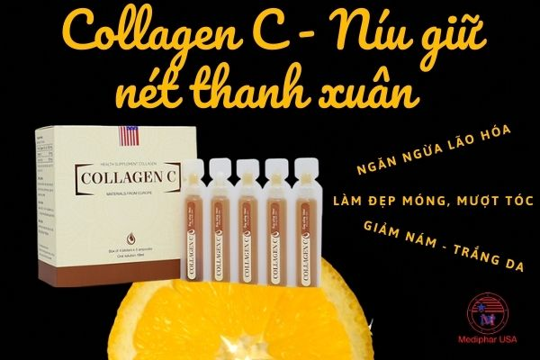 Hydrolyzed collagen with vitamin C